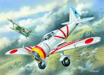 Ki-27a (Type 97), Japan Army Fighter · ICM 72201 ·  ICM · 1:72