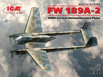 Focke Wulf FW 189 A-2 · ICM 72292 ·  ICM · 1:72