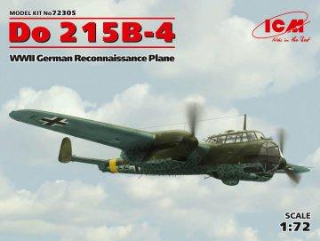 Dornier Do 215B-4 WWII Reconnaissance Plane · ICM 72305 ·  ICM · 1:72