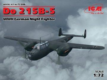 Dornier Do 215 B-5 WWII German Night Fighter · ICM 72306 ·  ICM · 1:72