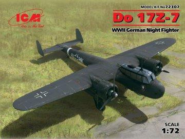 Dornier Do 17 Z-7, WWII German Night Fighter · ICM 72307 ·  ICM · 1:72