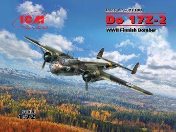 Dornier Do 17 Z-2, WWII Finnish Bomber · ICM 72308 ·  ICM · 1:72