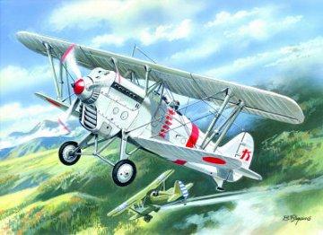 Ki 10-II Japan Army Fighter-Biplane · ICM 72311 ·  ICM · 1:72