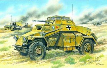 Sd.Kfz. 222 German Light Armoured Vehicle · ICM 72411 ·  ICM · 1:72