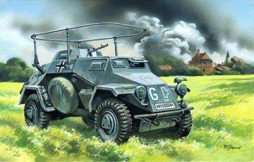 Sd.Kfz. 223 German Radio Communication Vehicle · ICM 72421 ·  ICM · 1:72