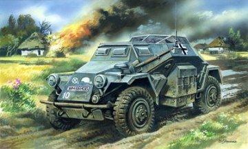 Sd.Kfz. 260 German Radio Communication Vehicle · ICM 72431 ·  ICM · 1:72
