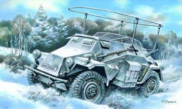 Sd.Kfz. 261 German Radio Communication Vehicle · ICM 72441 ·  ICM · 1:72
