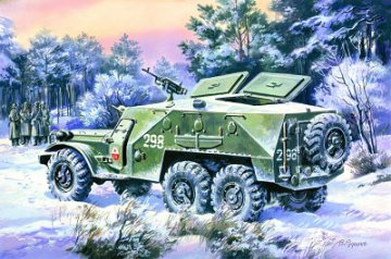 BTR-152K , Soviet Armored Personnel Carrier · ICM 72521 ·  ICM · 1:72