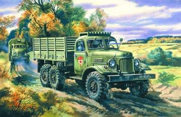ZiL-157 Soviet Truck · ICM 72541 ·  ICM · 1:72