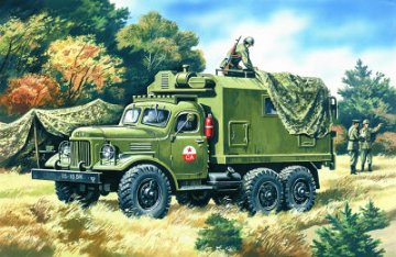 ZIL-157 Command Vehicle · ICM 72551 ·  ICM · 1:72