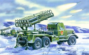 BM-24-12 Katiusha · ICM 72591 ·  ICM · 1:72