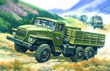 Ural-4320, Soviet Army Cargo Truck · ICM 72611 ·  ICM · 1:72
