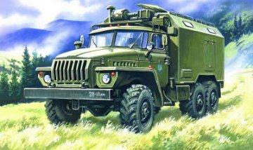 Ural 4320 Command Post · ICM 72612 ·  ICM · 1:72
