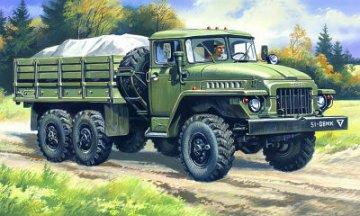 Ural 375D, Soviet Army Cargo Truck · ICM 72711 ·  ICM · 1:72