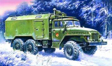 Ural 375D Command Post · ICM 72712 ·  ICM · 1:72
