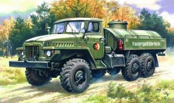 Ural 375D Petrol Bowser · ICM 72713 ·  ICM · 1:72