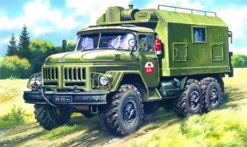 ZiL-131 Command Post · ICM 72812 ·  ICM · 1:72