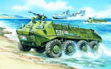 BTR-60 P, Armoured Personnel Carrier · ICM 72901 ·  ICM · 1:72