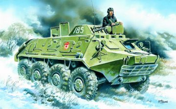 BTR-60 PB, Armoured Personnel Carrier · ICM 72911 ·  ICM · 1:72