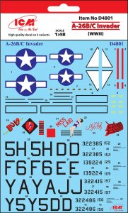 A-26B/C Invader (WWII) · ICM D4801 ·  ICM · 1:48