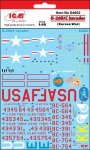 B-26B/C Invader (Korean War) · ICM D4802 ·  ICM · 1:48
