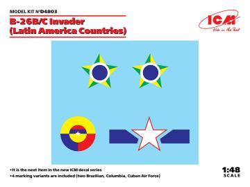 B-26B/C Invader (Latin America Countries) · ICM D4803 ·  ICM · 1:48