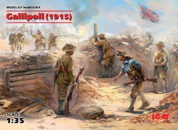 Gallipoli (1915) · ICM DS3501 ·  ICM · 1:35