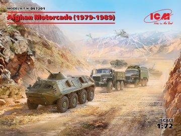 Afghan Motorcade (1979-1989) (URAL-375D, URAL-375A,ATZ-5-375,BTR60PB) · ICM DS7201 ·  ICM · 1:72