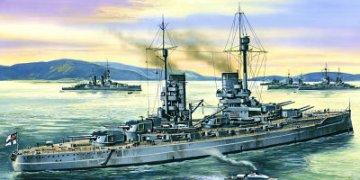 König, German Battleship, WWI · ICM S001 ·  ICM · 1:350