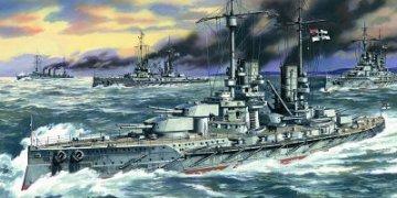 Grosser Kurfürst, German Battleship, WWI · ICM S002 ·  ICM · 1:350