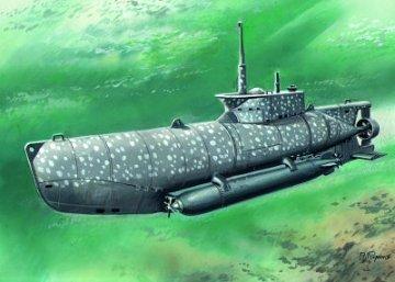 WWII deutsches U-Boot Typ XXVIIB Seehund - frühe Ausführung · ICM S006 ·  ICM · 1:72