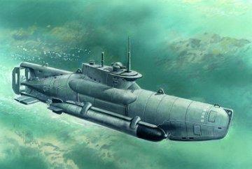 WWII deutsches U-Boot Typ XXVIIB Seehund - späte Ausführung · ICM S007 ·  ICM · 1:72
