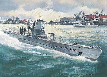 U-Boat Type IIB (1943) · ICM S010 ·  ICM · 1:144