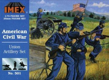Sezessionskrieg: Unions-Artillerie · IM 501 ·  Imex · 1:72
