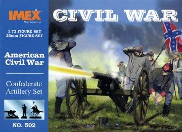 Südstaaten Artillerie · IM 502 ·  Imex · 1:72