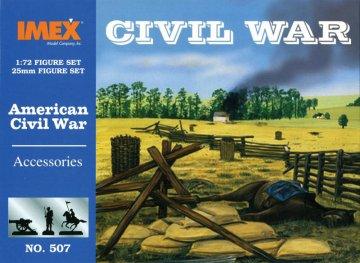 Zubehör Set Amerikanischer Bürgerkrieg · IM 507 ·  Imex · 1:72