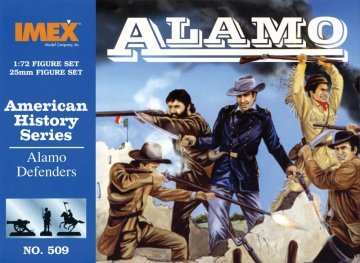 Texanische Infanterie - Alamo · IM 509 ·  Imex · 1:72