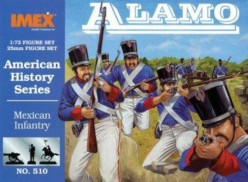 Mexikanische Infanterie - Alamo · IM 510 ·  Imex · 1:72