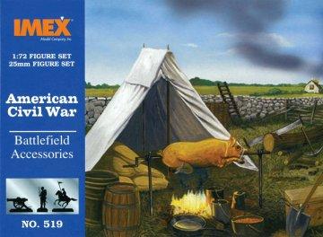 Amerikanische Geschichte: Schlachtfeld Zubehör · IM 519 ·  Imex · 1:72