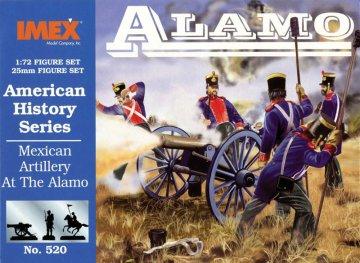 Mexikanische Artillerie - Alamo · IM 520 ·  Imex · 1:72