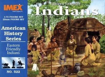 Indianerlager Ostküste · IM 522 ·  Imex · 1:72