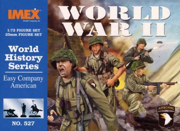 Easy Company American Troops · IM 527 ·  Imex · 1:72