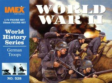 World War II German Troops · IM 528 ·  Imex · 1:72