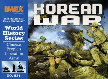 Chinesische Truppen Korea Krieg · IM 531 ·  Imex · 1:72
