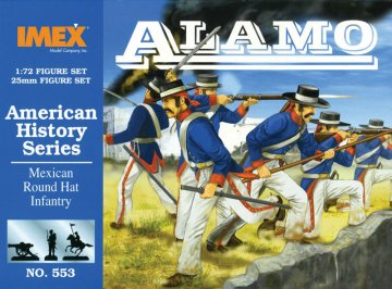 Alamo Shako´s Infantry · IM 553 ·  Imex · 1:72