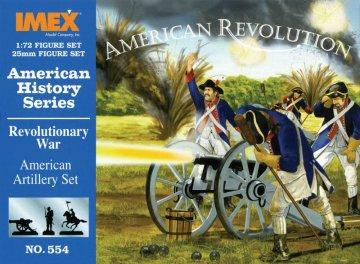 Amerikanische Artillerie · IM 554 ·  Imex · 1:72