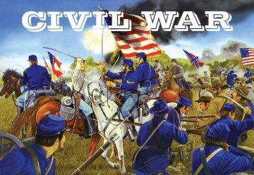 Sezessionskrieg: Set Figuren von Unions- und Konföderierten · IM 605 ·  Imex · 1:72