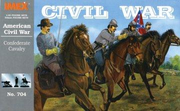 Sezessionskrieg: Konföderierten-Kavallerie · IM 704 ·  Imex · 1:32