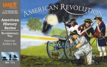 Unabhängigkeitskrieg: Amerikanische Artillerie · IM 711 ·  Imex · 1:32