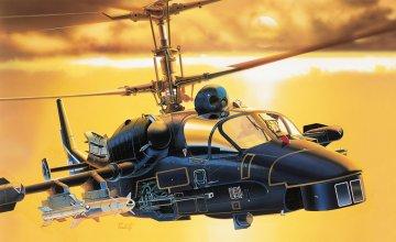 Kamov KA-52 Alligator · IT 0005 ·  Italeri · 1:72
